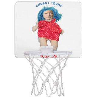 Chucky Donald Trump Doll Mini Basketball Hoop