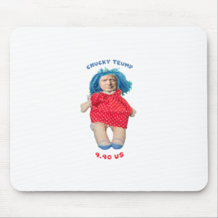 Chucky Donald Trump Doll Mouse Pad