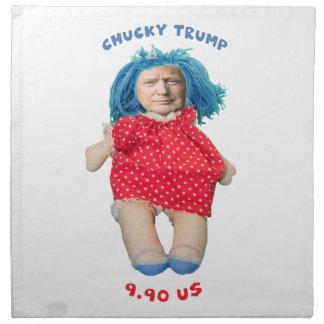 Chucky Donald Trump Doll Napkin