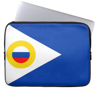 chukotka flag russia country republic region laptop computer sleeves