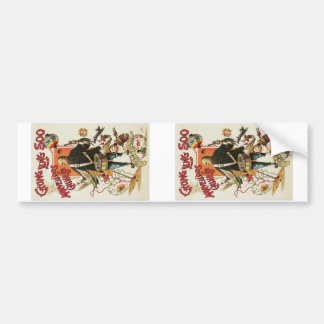 Chung Ling Soo ~ Vintage Chinese Magic Act Bumper Stickers