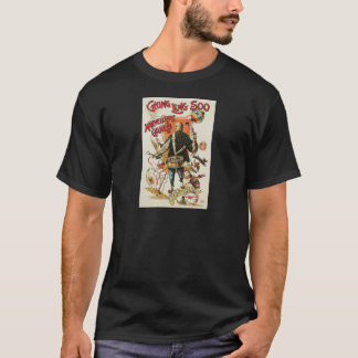 Chung Ling Soo ~ Vintage Chinese Magic Act T-Shirt