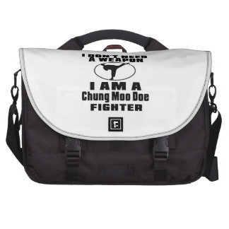 Chung Moo Doe Fighter Don't Need Weapon Laptop Computer Bag