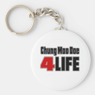 Chung Moo Doe For Life Basic Round Button Key Ring