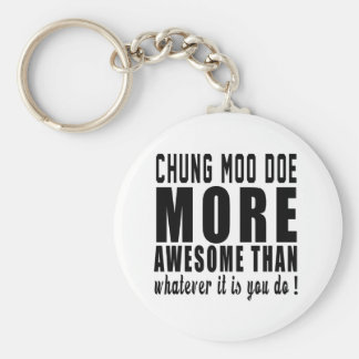 Chung Moo Doe more awesome than whatever it is you Keychain