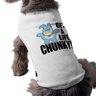 Chunky Bad Bun Life Sleeveless Dog Shirt