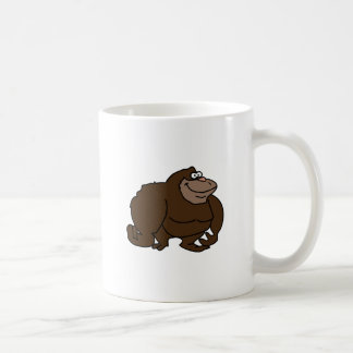 Chunky Brown Ape Gorilla Coffee Mug