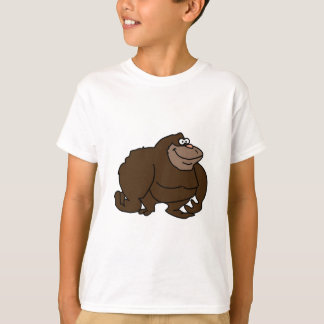 Chunky Brown Ape Gorilla T-shirts