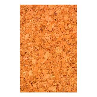 "Chunky Natural Cork Wood Grain Look 5.5"" X 8.5"" Flyer"