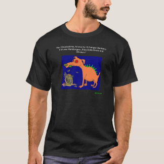chupa, The Chupacabras, known for its hungry bi... T-Shirt