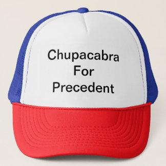 Chupacabra precedent trucker hat