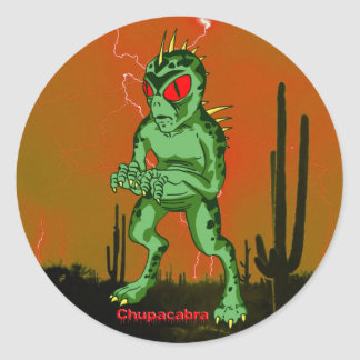 Chupacabra Sticker