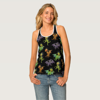 Chupacabras of Mexico pattern Tank Top