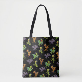 Chupacabras of Mexico pattern Tote Bag