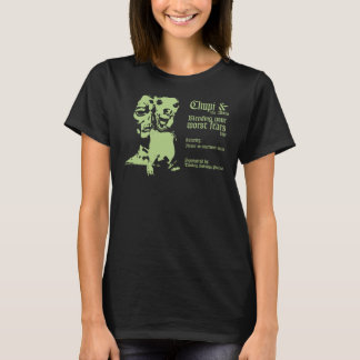 Chupi and the Aliens Tour shirt-Womens T-Shirt