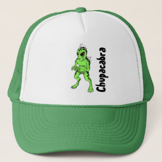 Chupracabra Green Men's Baseball Cap