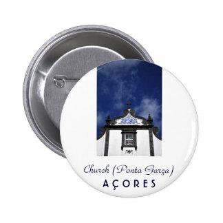 Church 6 Cm Round Badge