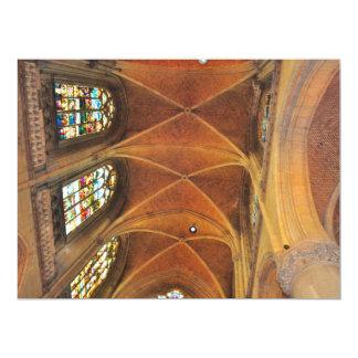 Church architecture invite