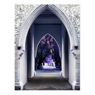 Church Archway Postcard