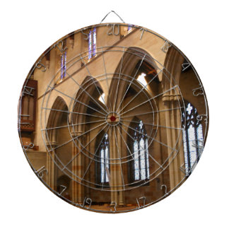 Church Archways Dartboard With Darts