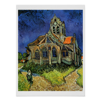 Church at Auvers, The Poster