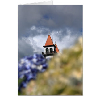 Church at Furnas - Azores Greeting Card