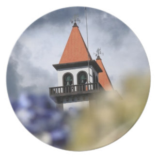 Church at Furnas - Azores Party Plate