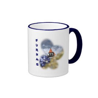 Church at Furnas - Azores Ringer Mug