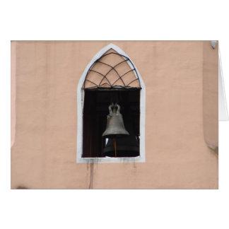 Church bell greeting card