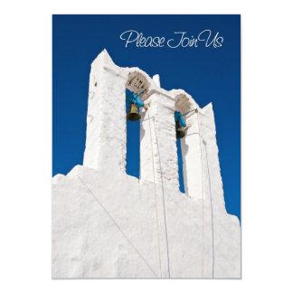 Church Bells Wedding Vow Renewal Invitation Card