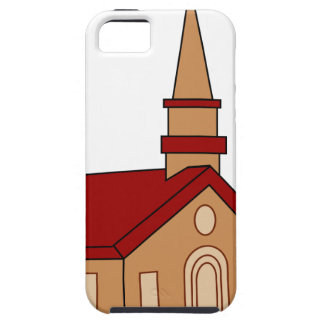 Church Cartoon Case For The iPhone 5