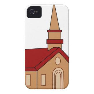 Church Cartoon iPhone 4 Cover