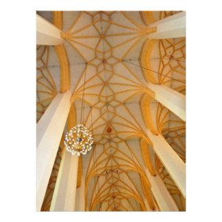 Church ceiling custom invitations