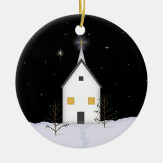 Church Christmas Remembrance Ornament