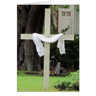 Church / Cross Condolence Card