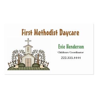 Church Daycare Business Card