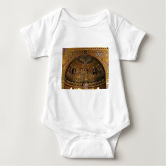 Church dome arch temple baby bodysuit