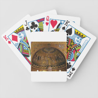 Church dome arch temple bicycle playing cards