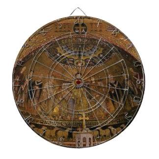 Church dome arch temple dartboard