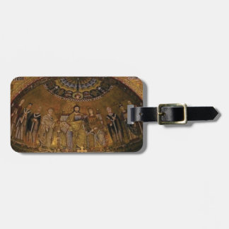 Church dome arch temple luggage tag