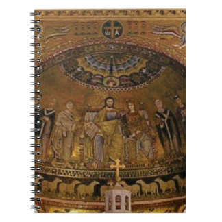 Church dome arch temple notebook