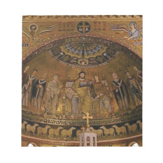 Church dome arch temple notepad