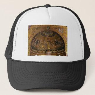 Church dome arch temple trucker hat