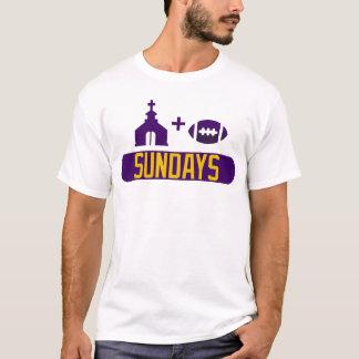 Church & Football Sundays T-Shirt