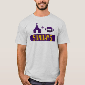 Church & Football Sundays T-Shirt