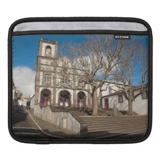 Church in Azores iPad Sleeve