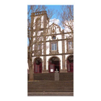 Church in Azores islands Photo Card Template