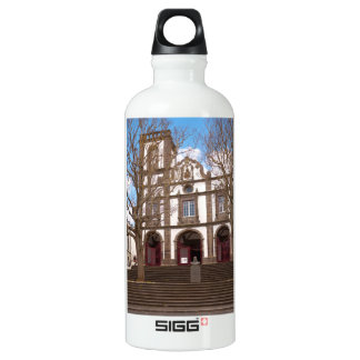 Church in Azores islands Water Bottle