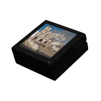 Church in Azores Small Square Gift Box