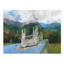 Church In The Mountains Post Card